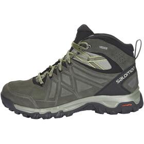 Salomon M's Evasion 2 Mid LTR GTX Shoes Castor Gray/Beluga/Guacamole